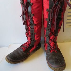PAJAR GRIP BLACK/RED WINTER BOOT SIZE 38